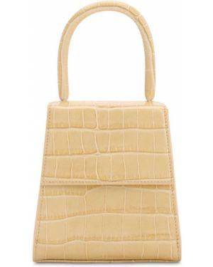 Żółta torebka skórzana Rixo