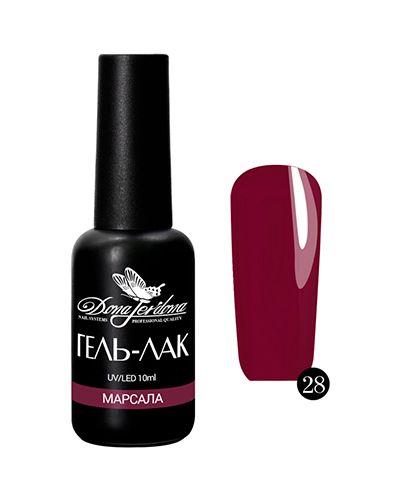 Гель-лак для ногтей бордовый Dona Jerdona
