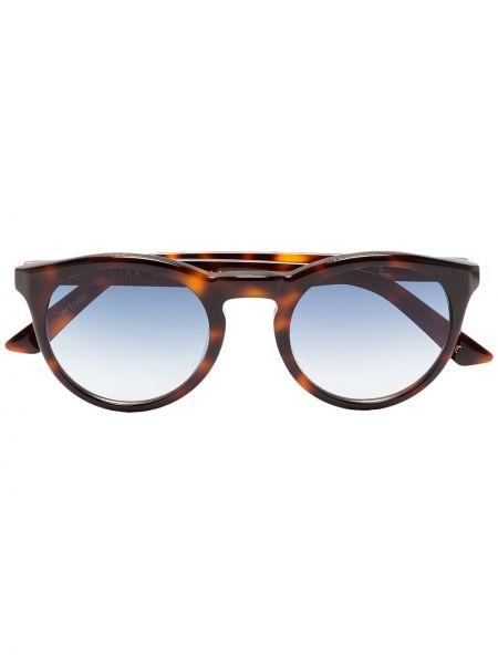 Niebieskie okulary z akrylu vintage Kirk Originals