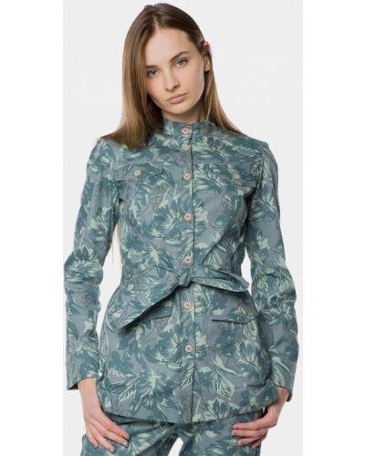 Зеленый пиджак Mr520