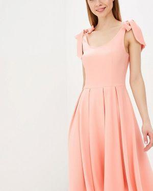 Платье коралловый красный Mirasezar