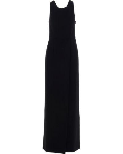 Sukienka długa elegancka - czarna Givenchy