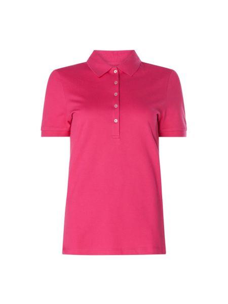 Różowy t-shirt bawełniany Christian Berg Women