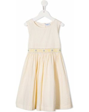 Sukienka midi w pasy z guzikami Siola