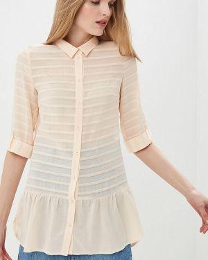 Блузка с коротким рукавом розовая весенний Panda