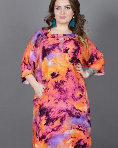 Платье из штапеля платье-рубашка Avigal (avrora)