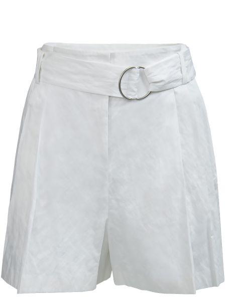 Шорты с карманами белые Michael Kors