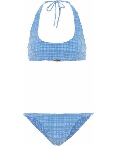 Нейлоновые синие бикини с янтарем Lisa Marie Fernandez