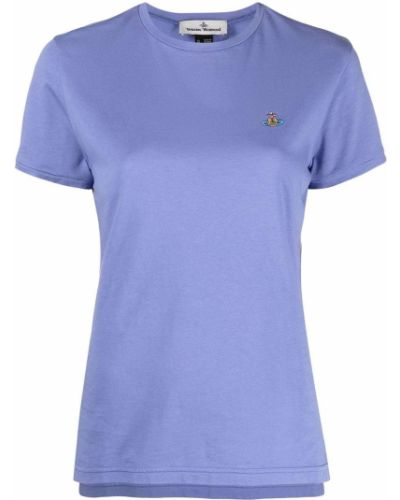 Прямая с рукавами футболка с вырезом Vivienne Westwood