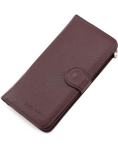 Кожаный кошелек - коричневый Marco Coverna