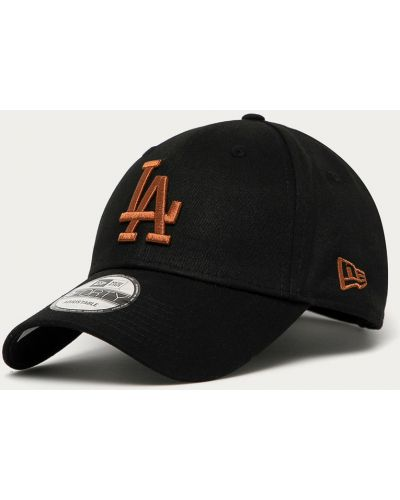 Czarny kapelusz materiałowy New Era