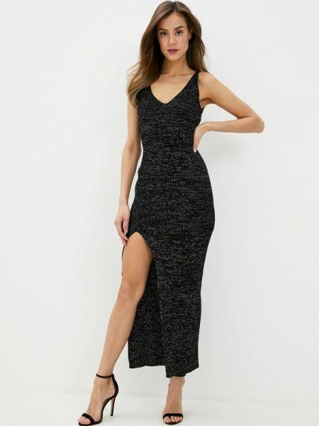 Черное вечернее платье форма