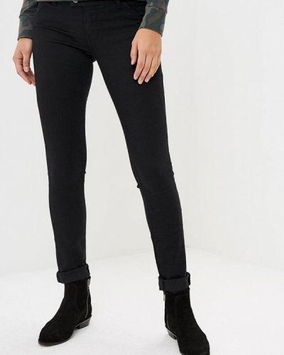 Черные джинсы-скинни Met