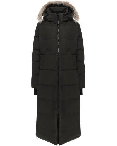 Куртка с капюшоном с мехом Canada Goose