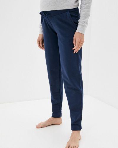 Синие домашние брюки Budumamoy
