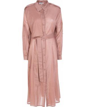 Платье макси длинное - бежевое A La Russe