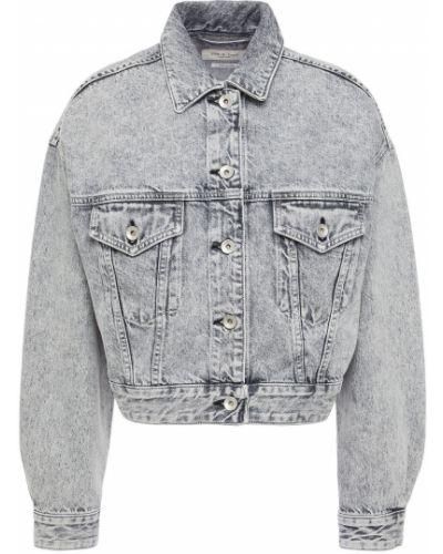 Хлопковая ватная синяя джинсовая куртка Rag & Bone