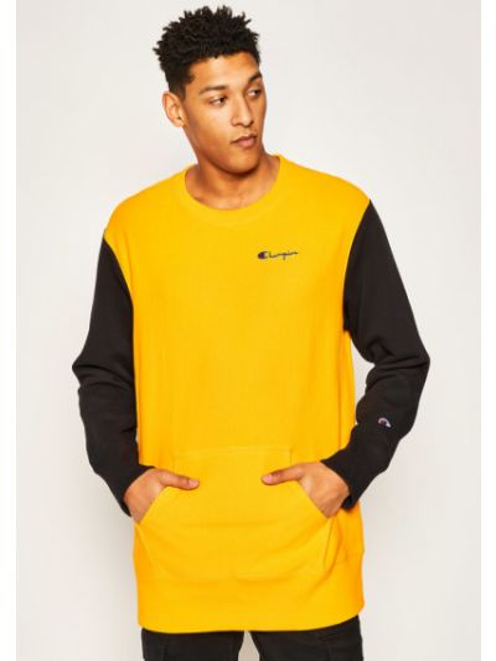 Pomarańczowa bluza oversize Champion