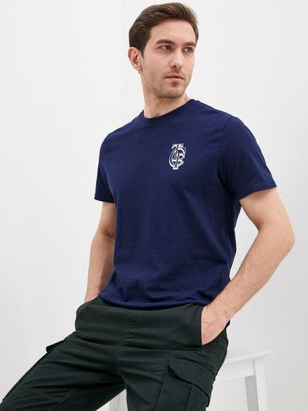 Синяя футболка Cortefiel
