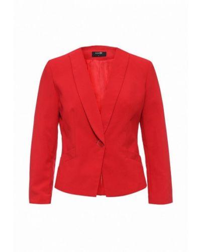 Пиджак красный Oodji