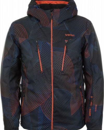Куртка с капюшоном утепленная черная VÖlkl