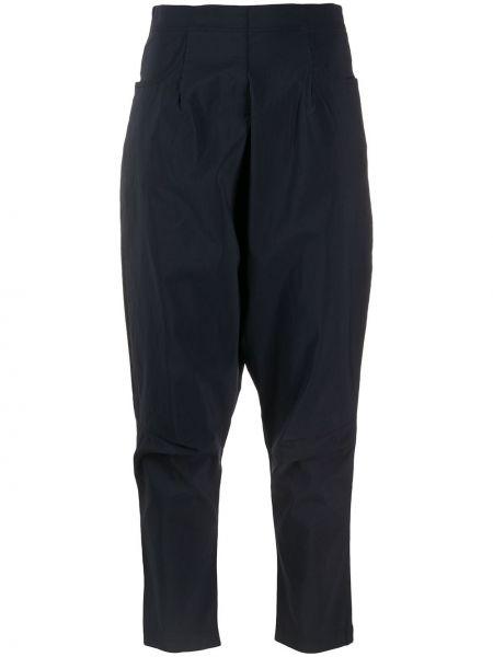 Укороченные брюки - синие Rundholz