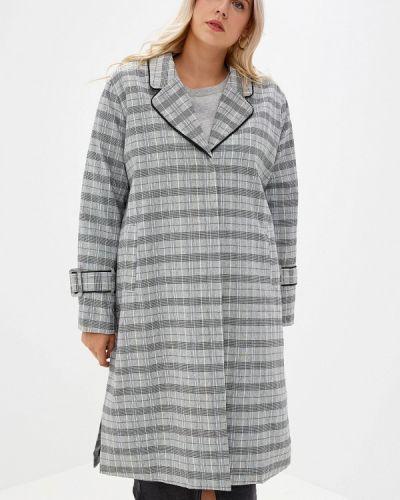 Пальто серое пальто Lost Ink Plus
