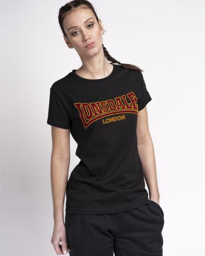 Черная спортивная футболка Lonsdale