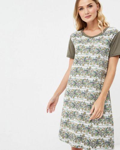 Платье осеннее хаки Vis-a-vis