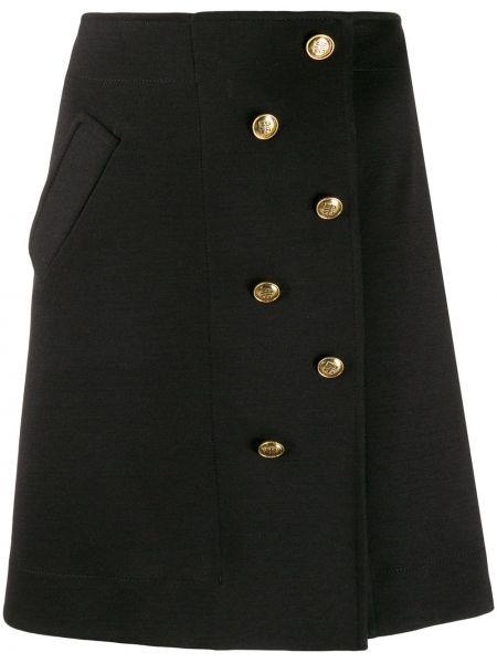 Юбка с запахом с карманами Givenchy
