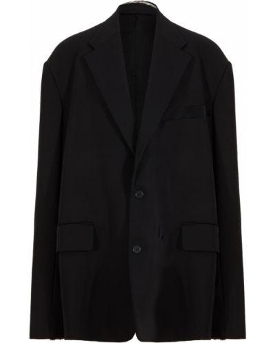 Пиджак оверсайз - черный Balenciaga