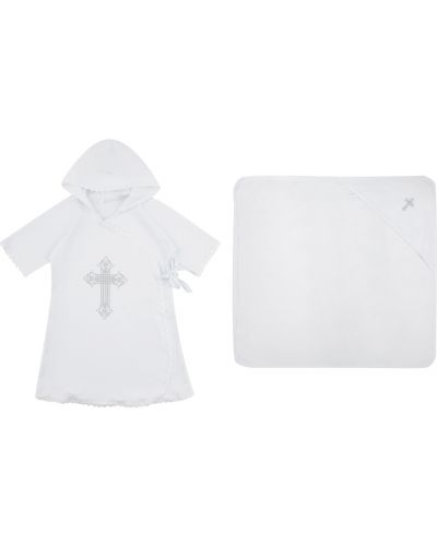 Рубашка белый набор Leader Kids