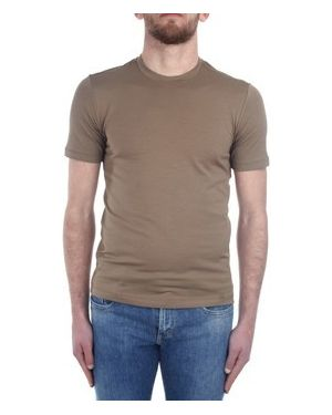 Brązowy t-shirt Cruciani