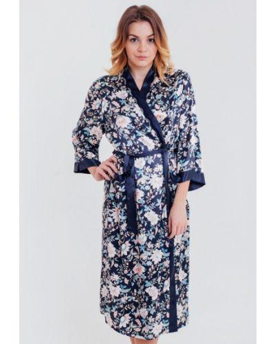 Синий халат Mia-amore
