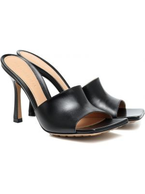 Кожаные туфли жёлтые Bottega Veneta
