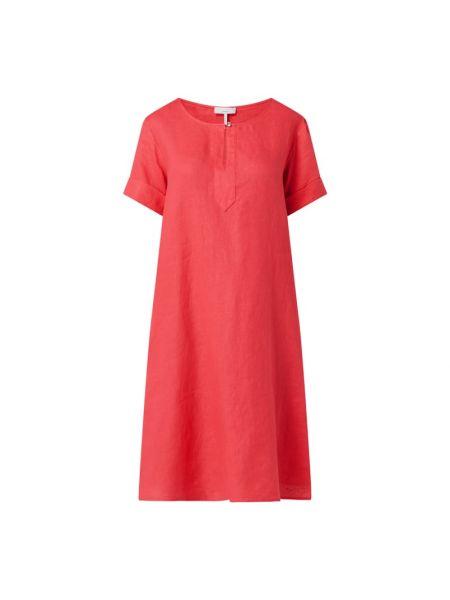 Sukienka rozkloszowana krótki rękaw - różowa Cinque