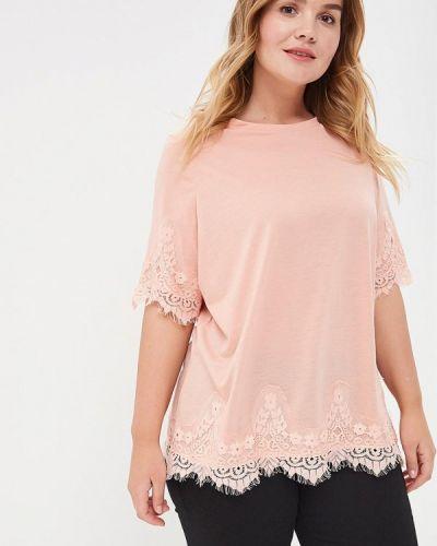Розовая футболка Junarose