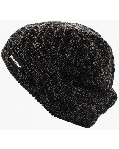Серая шапка осенняя Ziener