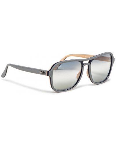 Szare okulary Ray-ban