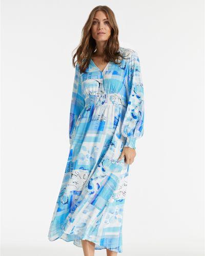 Голубое платье Taifun