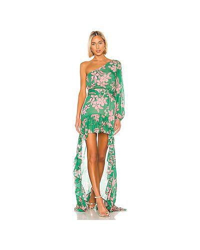 Вечернее платье зеленый Alexis