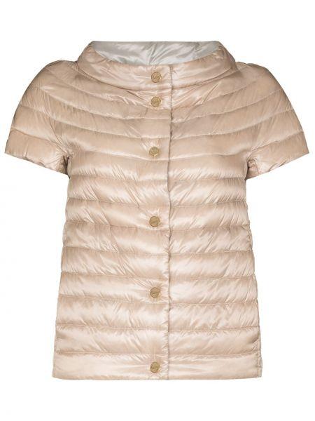 Пуховая куртка - розовая Herno