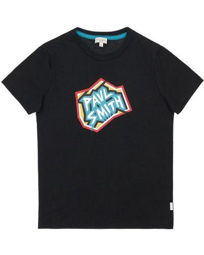 Bawełna bawełna czarny koszula Paul Smith Junior