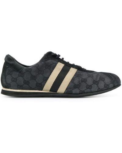 Кроссовки черные винтажные Gucci Vintage