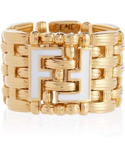 Кольцо - золотое Fendi
