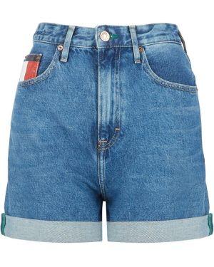Джинсовые шорты с завышенной талией с высокой посадкой Tommy Jeans