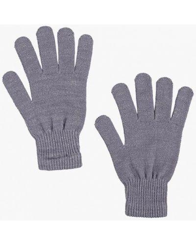 Серые перчатки текстильные Incity