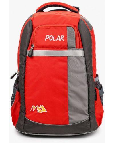 Красный рюкзак Polar