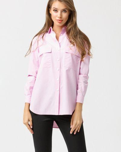 Блузка с длинным рукавом розовая Evercode