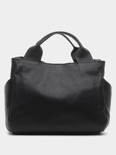 С ремешком черная кожаная сумка через плечо Clarks